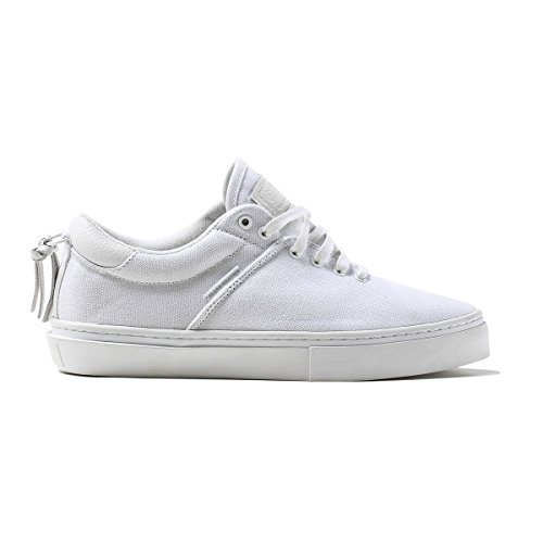 Clear Weather Ninety-White Low Top Canvas Sneaker Size 10 US Men, 11.5 US Women