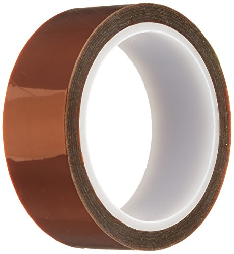 Kapton 18-1S Polyimide Tape with Silicone Adhesive 0.875 x 36 Yards