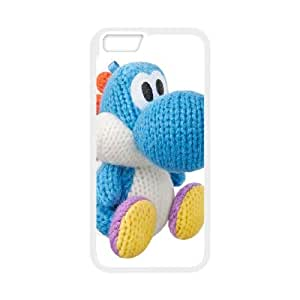 iPhone 6 Plus 5.5 Inch Cell Phone Case White Yoshi's Woolly World Zrdtr