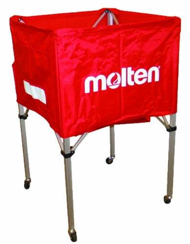 Moltenバレーボールカート、標準スクエアデザイン(レッド) B0063NF5SK