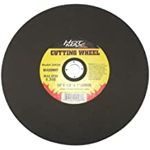 Hot Max 26024 14-Inch Masonry Cut Off Wheel, 1/8-Inch Thickness, 1-Inch Arbor, Type 1