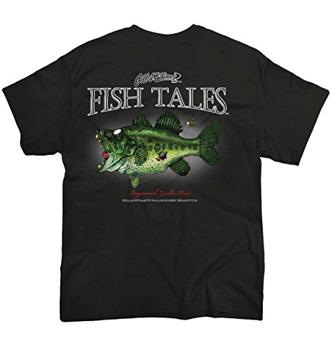 Gill McFinn Zombie Bass Fishing Shirt | Outdoor Gear Sporting Good Lure T-Shirt (Lure T-shirt)