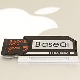"Bosvision Aluminium Micro SD Adapter with silver edge for MacBook Pro Retina 13""/ MBPR*"