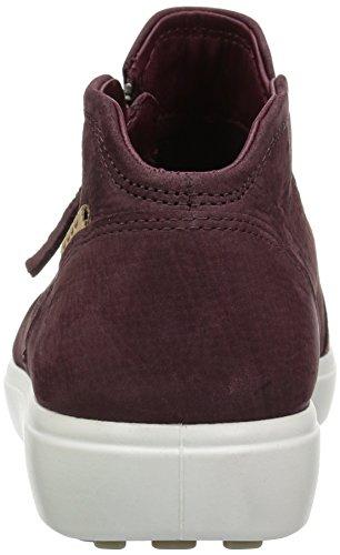 ECCO Soft 7 Ladies, Sneaker Donna Rosso (Bordeaux 1070)