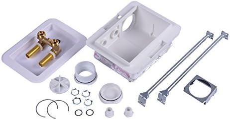 Oatey 38470SP caja de salida de lavadora con temperatura de fuego ...
