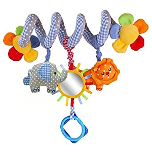 Home Holic Baby Kids Spiral Activity Hanging Toys Stroller Toy Car Seat Bed Hanging Toys Xmas Gifts Baby Boy