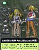 LOVE HINA Skyluv Project 06 Kaora Sul & Sara MacDougal (japan import) by C-WORKS x Kaiyodo