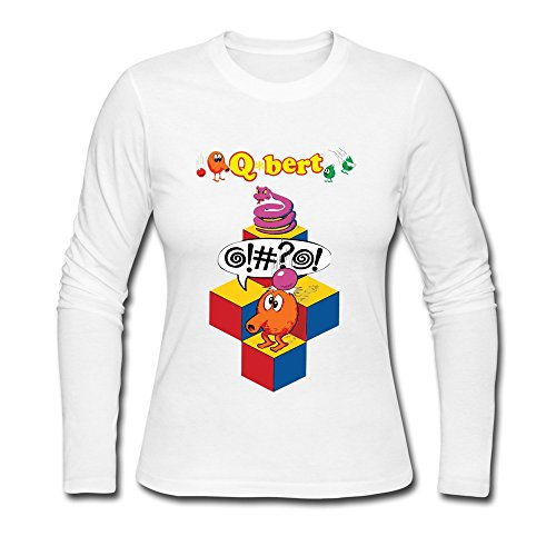 seico-lady-qbert-arcade-video-game-tee-shirts-white-size-l
