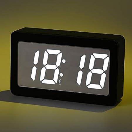 LTOOD LED réveil étudiant muet Intelligent Horloge de Chevet
