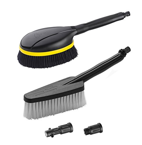 Karcher Universal Wash Brush Attachment Kit for Electric and Gas Power Pressure Washers