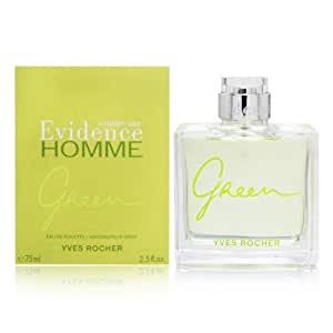 comme une evidence homme green by yves rocher 2 5 oz eau de toilette spray. Black Bedroom Furniture Sets. Home Design Ideas