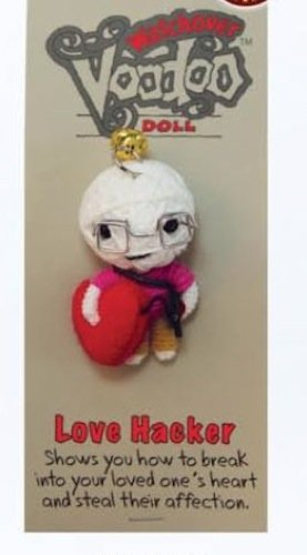 [Watchover Voodoo Love Hacker Doll, One Color, One Size] (Voodoo Doll Costume Child)