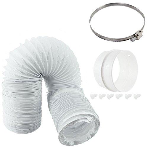 Spares2go Vent Hose & Extension Ring Kit For GORENJE Vented Tumble Dryer (4