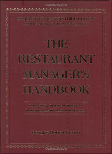 Amazon the restaurant managers handbook how to set up amazon the restaurant managers handbook how to set up operate and manage a financially successful food service operation 9780910627092 douglas fandeluxe Choice Image