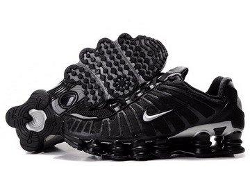 on sale 2250c 1565f Nike Shox TL1 Black Mens Trainers (UK 11)