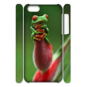 LJF phone case Frog DIY 3D Cover Case for ipod touch 5,personalized phone case ygtg532089