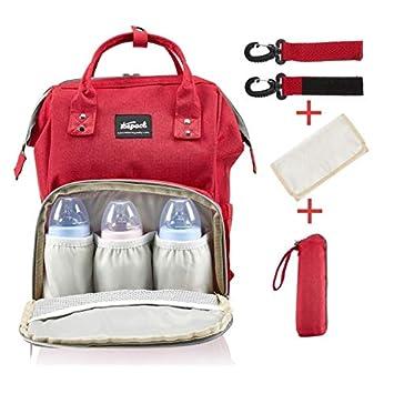 c6a17b3778971 Bebek bakım çantası Thepack Delux serisi Kırmızı: Amazon.com.tr: Thepack