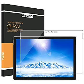 watch c1b52 98e90 MEGOO Screen Protector for Surface Pro 6 12.3 Inch, [Tempered Glass]  [Bubble Free Installation] [Anti-Scratch], Compatible for Microsoft Surface  Pro ...