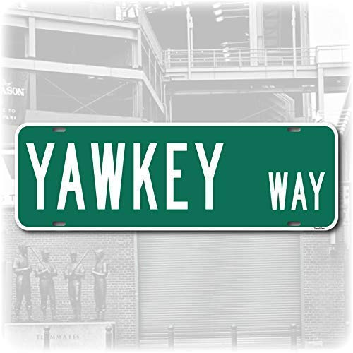 Yawkey Way Street Sign - Fenway Park