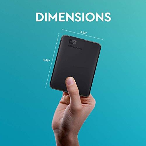 Western Digital Elements Portable, externe Festplatte - 2 TB - USB 3.0 - WDBU6Y0020BBK 7