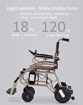 Amazon.com: Silla de ruedas eléctrica ComfyGO plegable y de ...