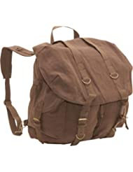 Rothco Vintage Canvas Front Strap Backpack