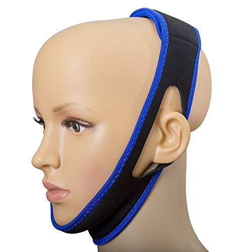 SoundtoSleep™ Anti-Snoring Chin Strap – Snore Stopper Solution Device - Snore Relief Guard - Sleep Aid Jaw Strap Reduces And Prevents Snoring