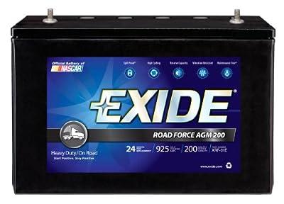 Exide XRF-31E ROADFORCE AGM-200 Sealed Maintenance-Free (AGM) Heavy-Duty/Commercial Battery