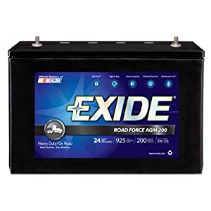 Exide XRF-31E ROADFORCE AGM-200 Sealed Maintenance-Free (AGM) Heavy-Duty/Commercial Battery