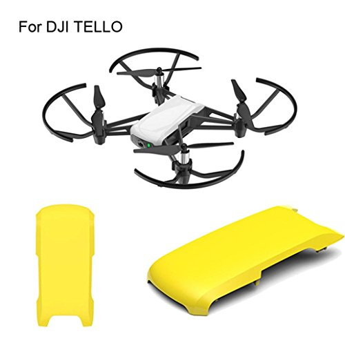 Cheap Elaco Snap-on Top Body Shell Cover Protction Case Replacement Repair Part For DJI Tello Drone (Yellow)