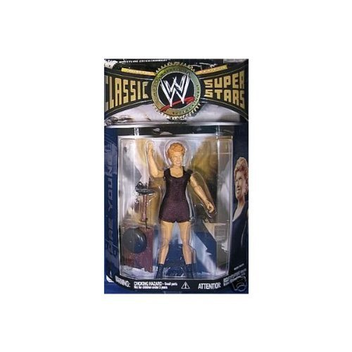 WWE Classic 18 Mae Young Superstars Jakks TOY Wrestling Figure