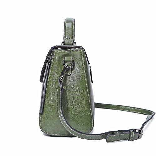 En Bandoulière Green Portable Sac Wdbao Cuir À xnwBwEfOqt