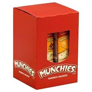 Amazon.com : Munchies Nacho Cheese Sandwich Crackers by