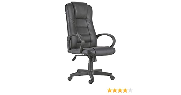 Adec - Silla de oficina lawyer, medidas 64 x 55 x 126 cm, color negro: Amazon.es: Hogar