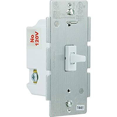 GE 12729 Z-Wave Wireless Lighting Control Smart Dimmer Toggle Switch, White (2-Pack)