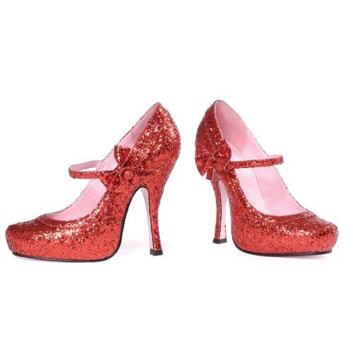 - Leg Avenue Sexy Ruby Red Glitter 4