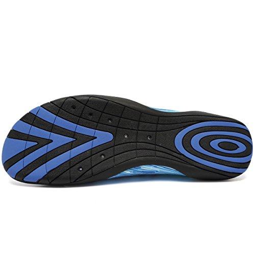Cior Multifunktionella Barfota Skor Män Kvinnor Snabbtorkande Vatten Skor Aqua Strumpor För Stranden Poolen Surf Yoga Ljus Blue01