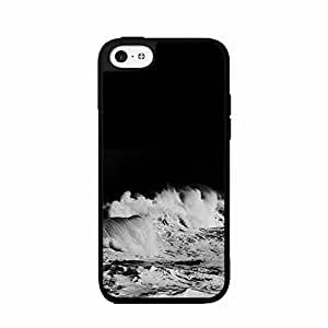 Dark Waves Plastic Fashion Phone Case Back Cover iPhone 5c