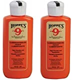 (2-Pack) Hoppes No. 9 Lubricating Oil, 2-1/4 oz. Bottle