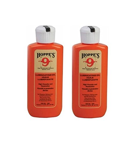 Lubricating Oil ((2-Pack) Hoppes No. 9 Lubricating Oil, 2-1/4 oz.)