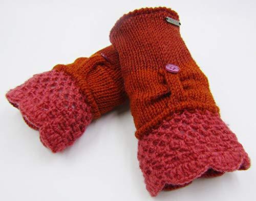 インタネットを見るしっかり熱意ドイツ発(MOSHIKI BRAND):レディース フィンガーレスニット手袋:SISNE PAIR