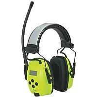 Electronic Ear Muff, AM/FM, Hi-Vis, 25dB