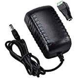 RockBirds RB-1202 New DC 12V 2.0A Switching Power Supply Adapter For 110V- 240V AC 50/60Hz 2.1mm Black
