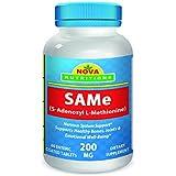 SAM-e 200 mg 60 Tabs (Enteric Coated) by Nova Nutritions