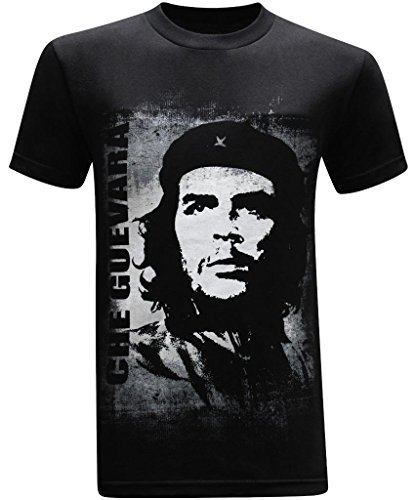 Tees Geek Che Guevara Vintage Mens Funny T Shirt    Medium    Black