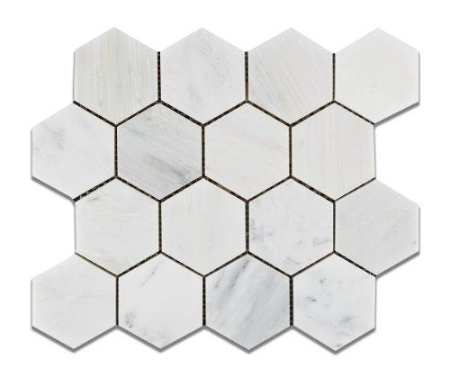 oriental-white-eastern-white-marble-3-hexagon-honed-mosaic-tile-6-x-6-sample