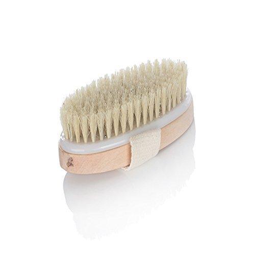 Welim scrubber corpo spazzola da bagno pennello con setole in legno spazzola con setole naturali per stanco Body