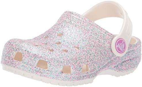 Crocs Women's Classic Glitter Clog Kids