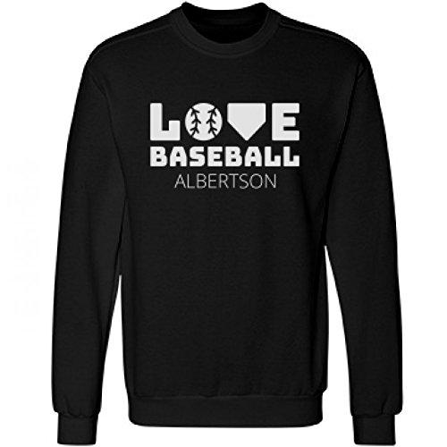 love-baseball-in-albertson-unisex-anvil-crewneck-sweatshirt