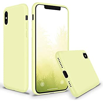 Amazon.com: SURPHY iPhone Xs Max Silicone Case, Slim